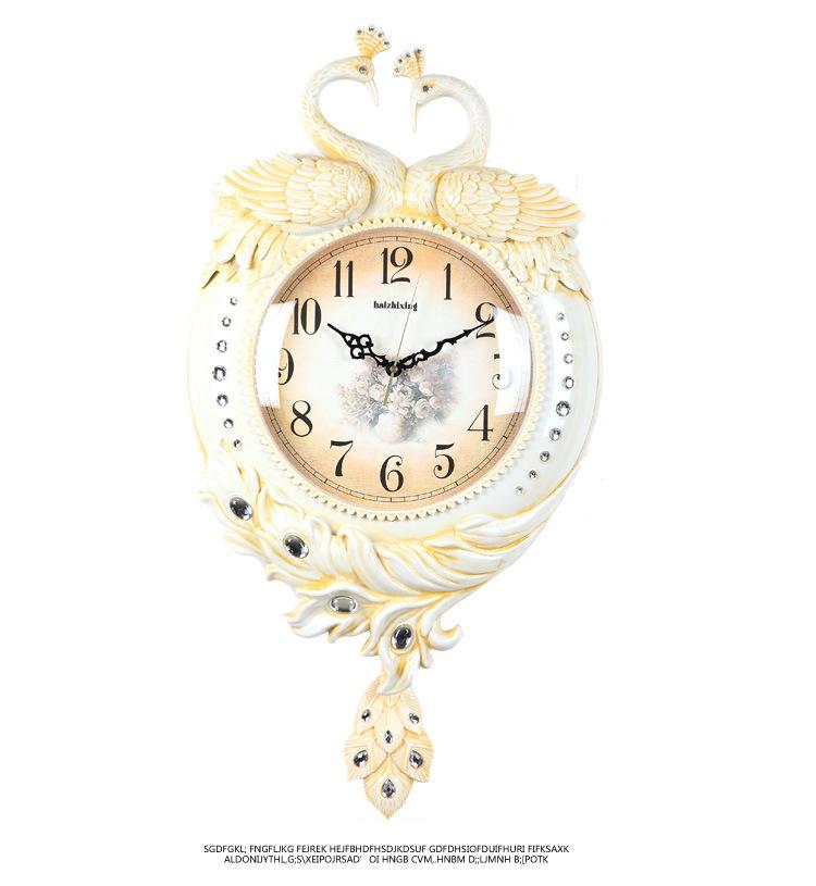 Đồng hồ treo tường 2 mặt mang đậm phong cách Hoàng Gia Anh vô cùng sang trọng 6599