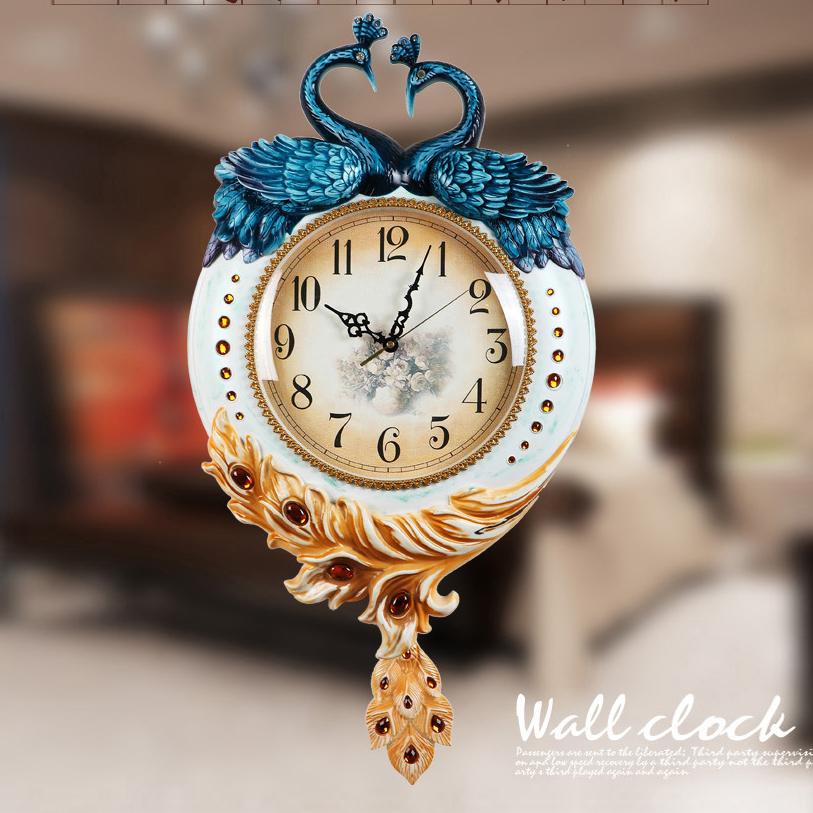 Đồng hồ treo tường- kiểu dáng Châu Âu cổ điển 6599