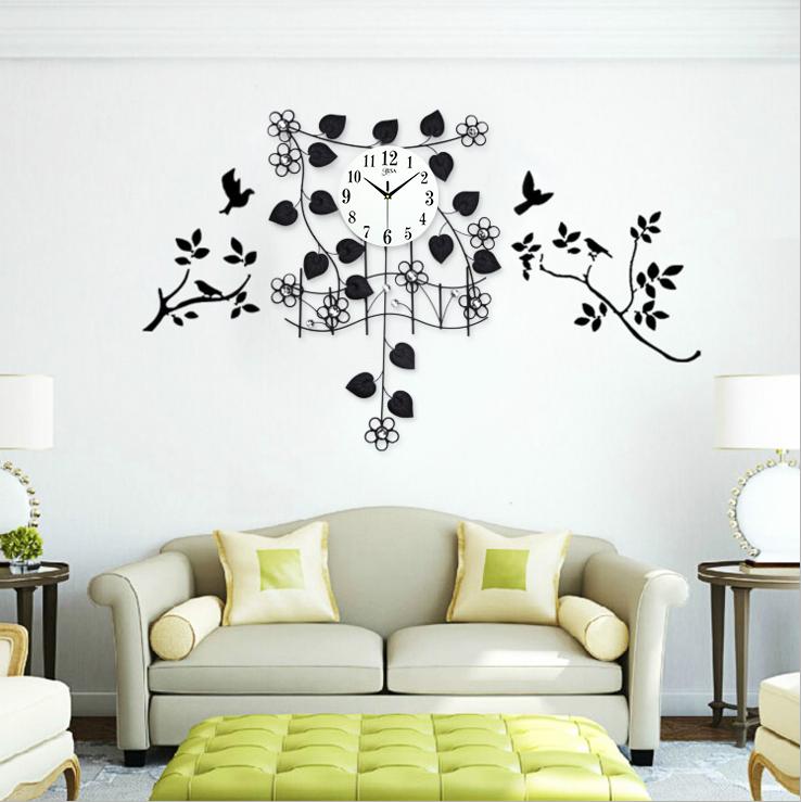 Đồng hồ treo tường dàn hoa thiên hoa lý khơi nguồn sáng tạo BS9999
