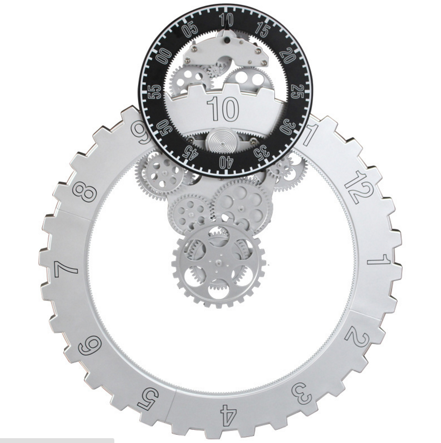 Đồng hồ treo tường bánh răng Swing vô cùng ấn tượng có 1 không 2 trên thị trường