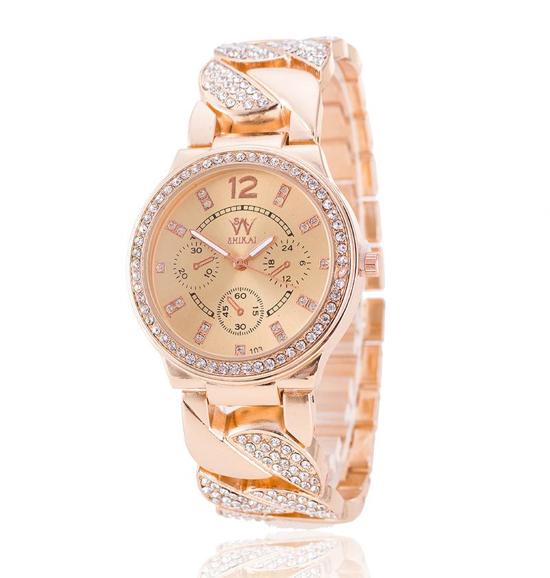 Đồng hồ thời trang nữ đính đá sang trọng cho phái nữ thêm hấp dẫn thu hút mắt nhìn 1121