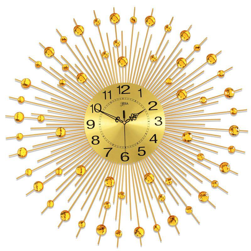 Đồng hồ treo tường mặt trời thương hiệu Bisa BS60006-90V