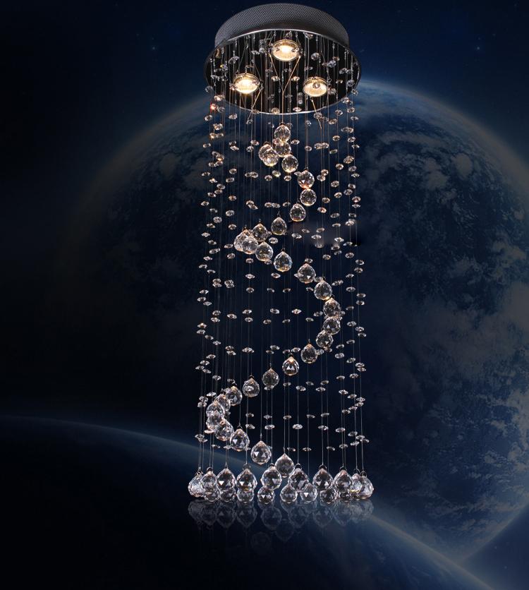Đèn thả trần pha lê cao cấp - mang phong cách Châu Âu 0058-300