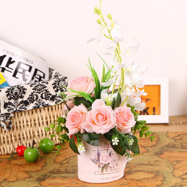 Bình hoa hồng lọc không khí GK-H12 hút hết mọi khí độc trong ngôi nhà của bạn