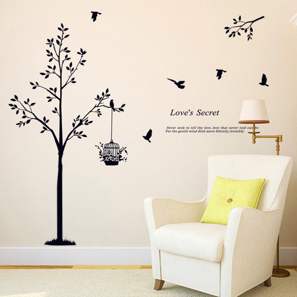 Trang trí ngôi nhà thân yêu với tranh dán tường - điểm nhấn cho không gian sống AY9064