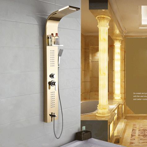 Vòi hoa sen INOX cao cấp cho không gian phòng tắm thêm sang trọng và hoàn hảo