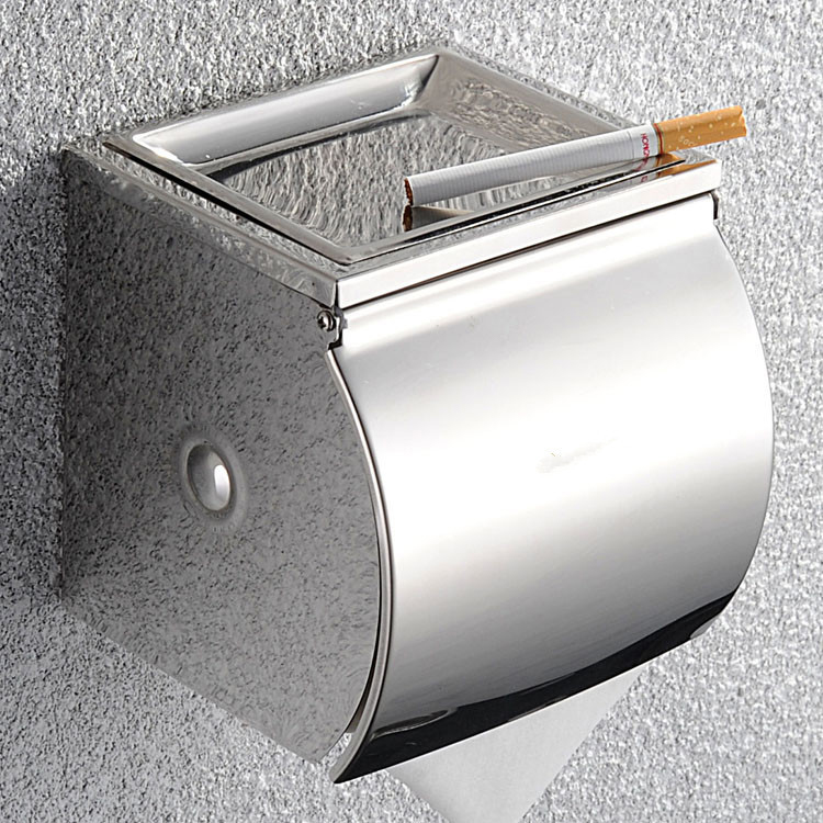 Phụ kiện phòng tắm, Hộp đựng giấy vệ sinh đa năng inox cao cấp 1231
