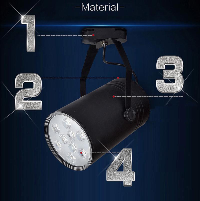 Đèn rọi ray với thiết kế ray trượt linh động có khả năng chiếu sáng đa dạng tiện lợi cho người tiêu dùng