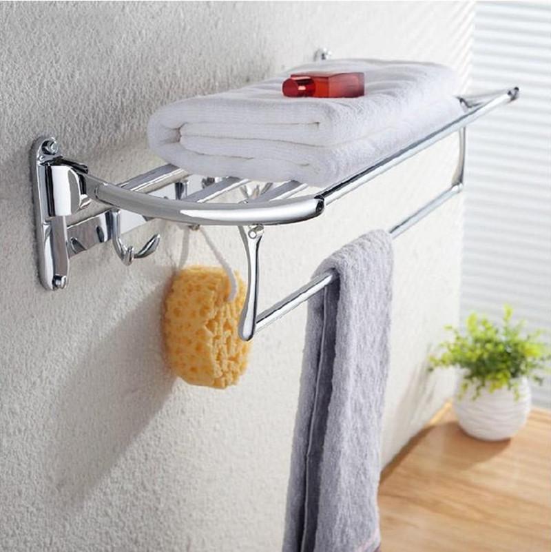 Phụ kiện nhà tắm, giá treo để khăn đa năng 1004