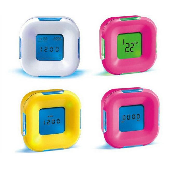 đồng hồ led 4 chức năng